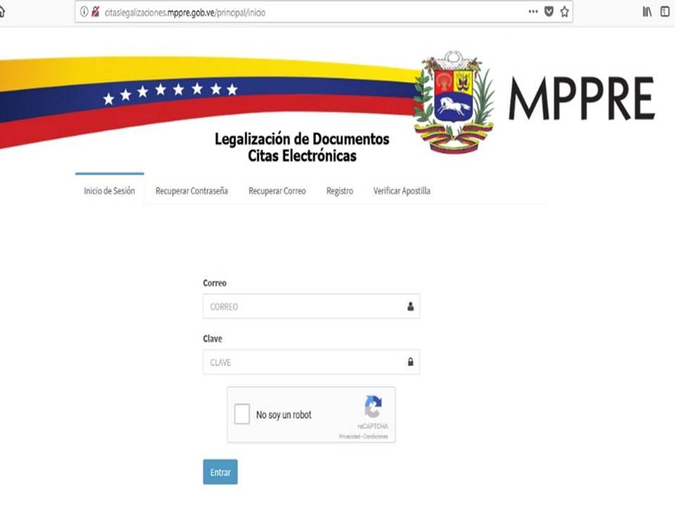 ¿Cómo solicitar la cita para apostillar documentos en Venezuela 2021?